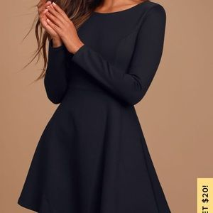 LULUS forever chic dress-holiday parties!